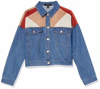 Forever 21 Women's Plus Size Colorblock Jacket