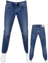 Edwin ED55 Regular Tapered Jeans Blue