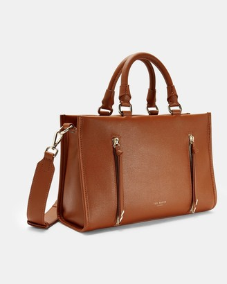 Ted Baker Double Zip Small Tote Bag