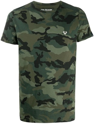 True Religion camouflage-print T-shirt