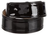 Max Mara Wide Patent Leather Belt