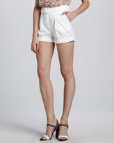 Brady Belted High-Waist Shorts