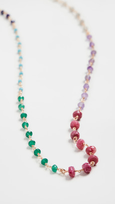 Maison Irem Bead Spectrum Necklace