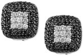 Effy Diamond Square Stud Earrings (1 ct. t.w.) in 14k White Gold