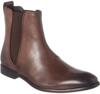 John Varvatos Star H Leather Chelsea Boot
