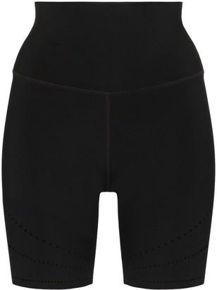 Nimble Activewear Logo Print Perforated Cycling Shorts