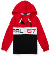 Ralph Lauren Concealed-Zip Rugby Hoodie, Toddler Boys (2T-5T) & Little Boys (2-7)