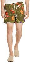 Polo Ralph Lauren Traveler Floral Print Swim Trunks