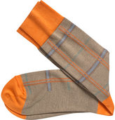Johnston & Murphy Men's Pima Cotton Plaid (6 Pairs)