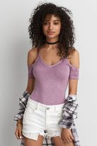 American Eagle Outfitters AE Cold Shoulder Bodysuit