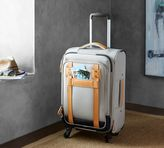 Pottery Barn Rive Wheeled Luggage - Taupe/Cognac