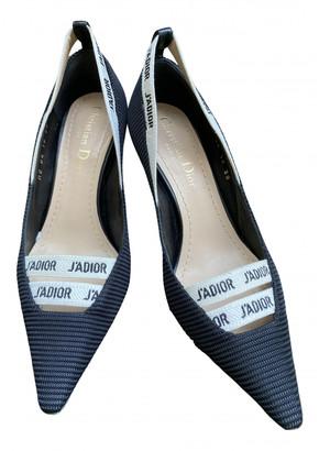 Christian Dior J'adior Black Leather Heels