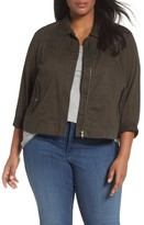 Sejour Plus Size Women's Pocket Detail Jacket