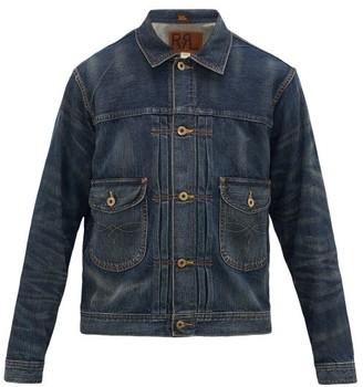 Ralph Lauren RRL Cowboy Patch-pocket Denim Jacket - Dark Blue