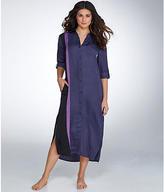 DKNY Satin Maxi Night Gown