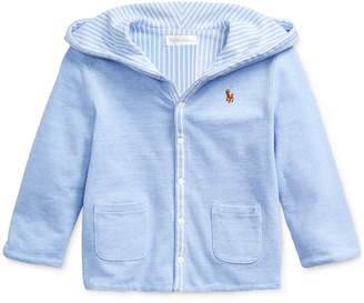 Polo Ralph Lauren Baby Boys Reversible Knit Jacket