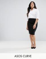 Asos High Waisted Pencil Skirt