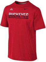 Nike Kids' Ohio State Buckeyes Legend Dri-FIT Staff T-Shirt