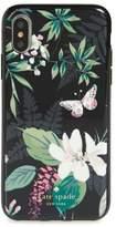 Kate Spade embellished botanical iPhone X case