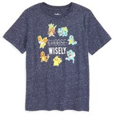 JEM Pokémon - Choose Wisely Graphic T-Shirt (Toddler Boys & Little Boys)