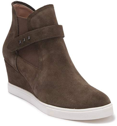 Top High Freshton Leather Wedge Sneaker BodexWrC