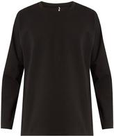 Oamc Pandaemonium-print crew-neck sweater