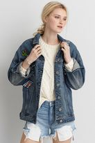 American Eagle Outfitters AE Patched Denim Jacket