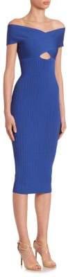 Cushnie et Ochs Off-The-Shoulder Dress