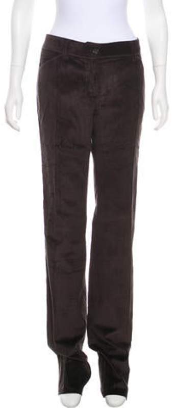 Dolce & Gabbana Corduroy Straight-Leg Pants brown Corduroy Straight-Leg Pants