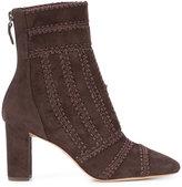 Alexandre Birman stitch detail boots - women - Leather/Suede - 36