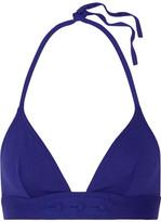 Eres Carnaval Triangle Bikini Top - Royal blue