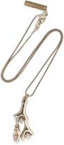 Oscar de la Renta Gold-plated, resin and Swarovski crystal necklace