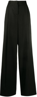 Nina Ricci High-Waisted Pleated Trousers