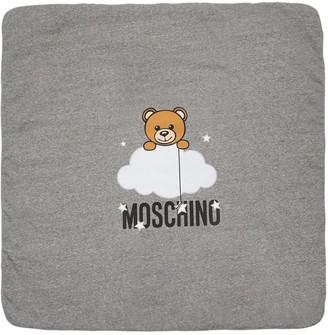 Moschino Padded Jersey Blanket