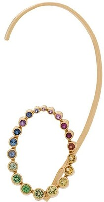 Charlotte Chesnais 18kt yellow gold Caracol earring