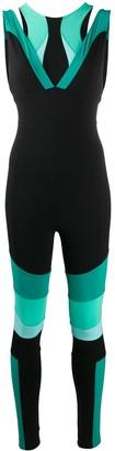 NO KA 'OI Colour-Block Performance Jumpsuit