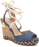 Mix No. 6 Women's Venesa Wedge Sandal -Navy