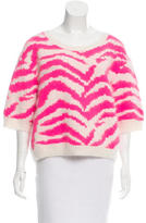 By Malene Birger Angora-Blend Patterned Sweater