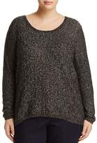 NYDJ Plus Sequin-Embellished Sweater