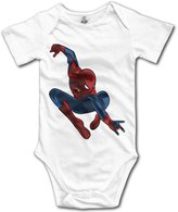 VBE104 Spiderman Aunt May Baby Onesie Toddler-bodysuits