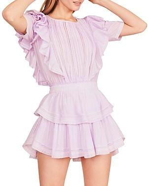 LoveShackFancy Natasha Ruffled Dress