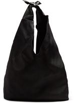 The Row Bindle linen shoulder bag
