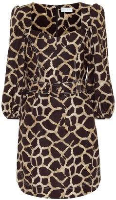 Rebecca Vallance Acacia linen-blend minidress