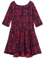 Tea Collection Toddler Girl's Culzean Plaid Dress