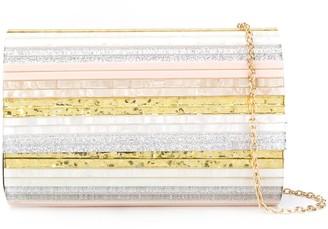 Kurt Geiger Striped Clutch Bag