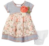 Iris & Ivy Knit to Floral Dress (Baby Girls 12-24M)