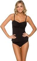 Sunsets Swimwear - Iconic Twist Tankini Bikini Top 70BLCK