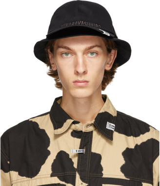 Miharayasuhiro Black Bucket Hat Cap