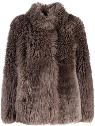 Suprema Reversible Shearling Jacket