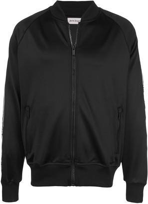 Palm Angels Sleek Varsity track jacket